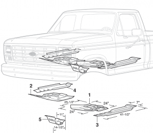 Floor Pans and Cab Support