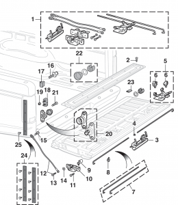 Styleside and Stepside Tailgate Parts