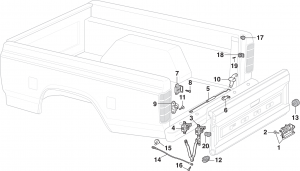 Styleside Tailgate Parts