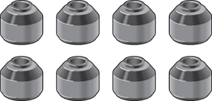 Urethane End Link Bushing Set