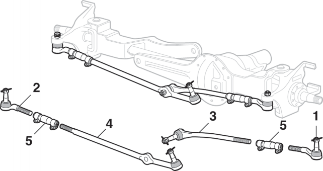 Steering Components - 4 Wheel Drive