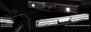Chrome Star-Lite Rear Step Bumper