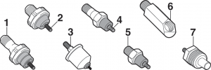 Oil Pressure and Water Temp Switches