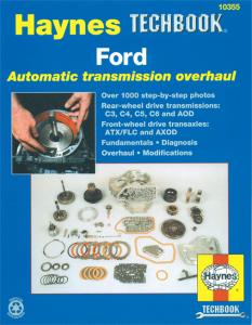 Hayes Auto Transmission Manual