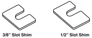 Body Panel Alignment Shims
