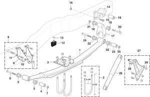 Rear Suspension - 2 and 4 Wheel Drive