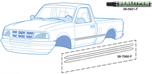 Cut-to-Fit Body Side Molding