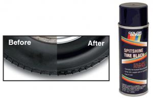 Spitshine Tire Black … Bring Back the Shine