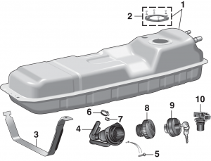 Gas Tanks and Components