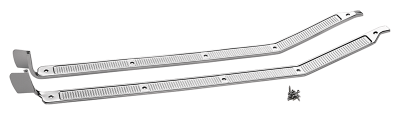 1973-79 Door Sill Plate Set-Aluminum