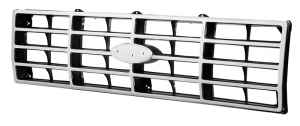 1982-86 Grille-Chrome and Black