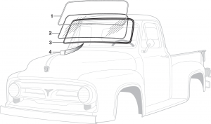 Windshield and Seal