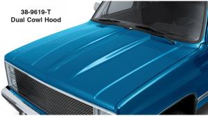 1981-87 Dual Cowl Hood