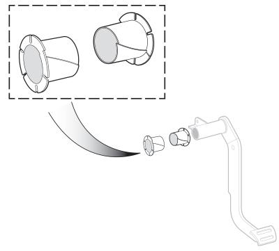 1960-66 Brake Pedal Shaft Bushing Set