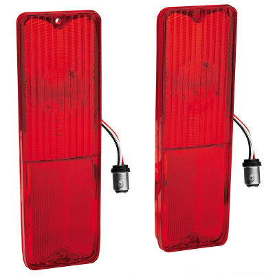 1967-72 LED Tail Light Lens Set