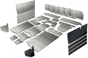 1981-87 Pre-Cut Insulation Kit
