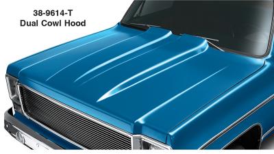 1973-80 Dual Cowl Hood