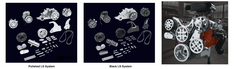 LS-Series Engine Serpentine Systems