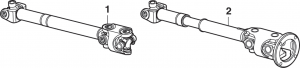 Front Driveshaft Assembly