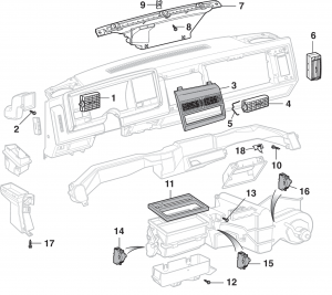 Air Vent Outlets and Components