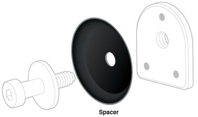 1988-98 Door Striker Spacer