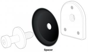 1992-99 Door Striker Spacer