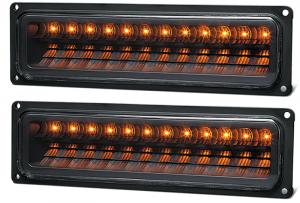 LED Parklight Set-Black