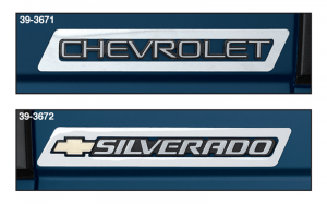 Stainless Steel Emblem Trim