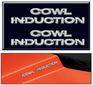 Cowl Induction Emblem Set