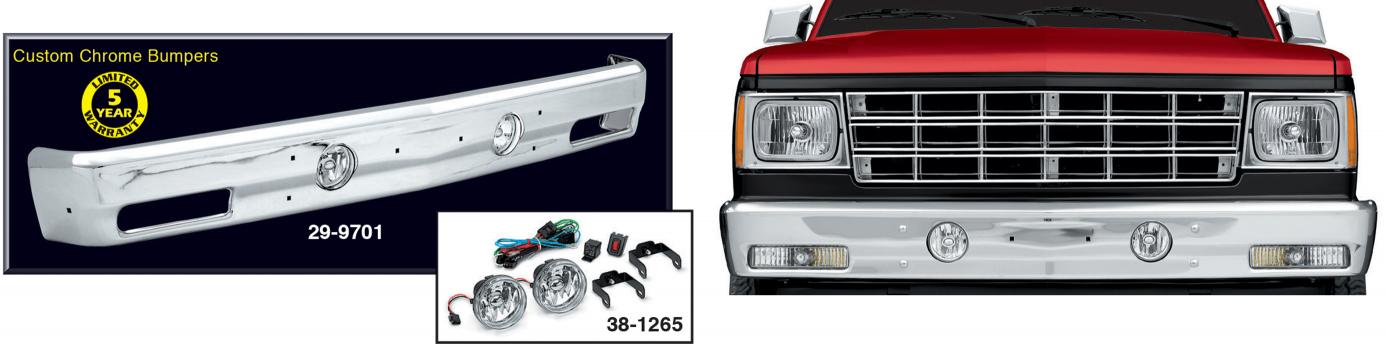 Custom Chrome Bumper Lighted