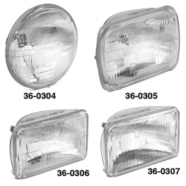 High-Performance Halogen Headlight
