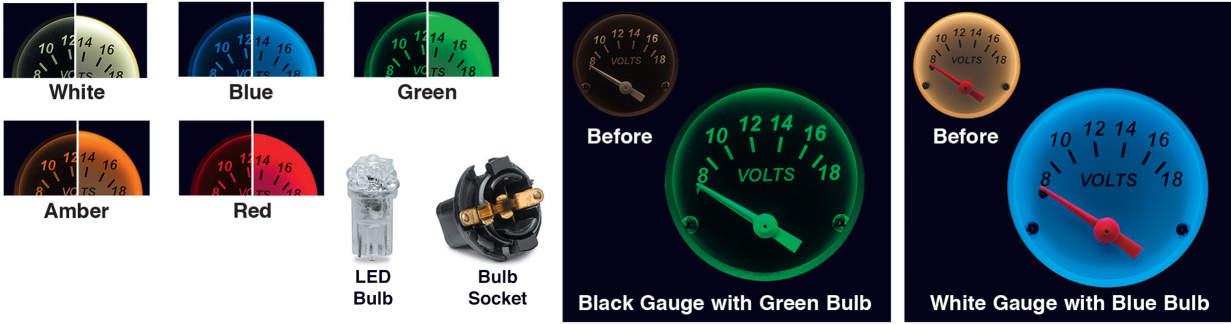 LED Instrument Panel Bulbs … Gives You Longer Bulb Life