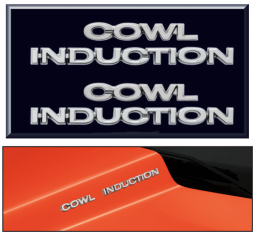 Cowl Induction Emblem Set