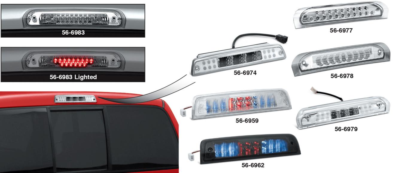 LEDThird Brake / Cargo Light ... The Future of Automotive Lighting