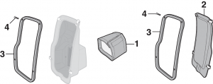 Side Cowl Vent Components