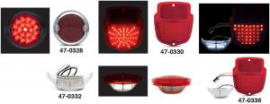 LED Tail Light and License Light