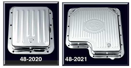 Chrome Transmission Pans