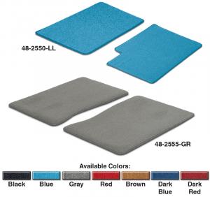 Carpeted Floor Mats