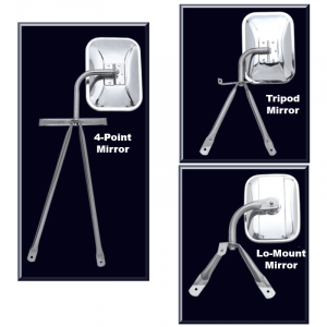 Tripod, 4-Point and Lo-Mount Mirrors