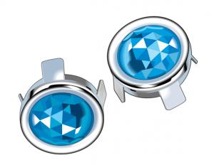 Tail Lens Blue Dot Insert