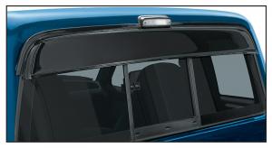 Rear Cab Cover Blocks Glare