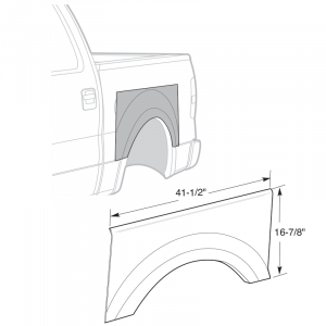 2009-14 Upper Wheel Arch