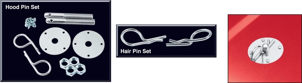 Hair Pin Style Hood Pin Set