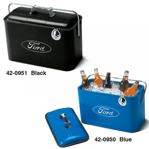 Vintage Metal Ford Coolers