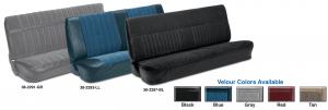 Velour Bench Seat Kits