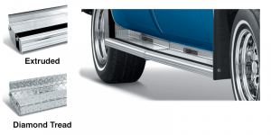 Fleetside Aluminum Running Boards Give You a Step Up