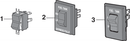 Gas Tank Selector Switches