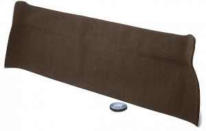 Dark Brown Rear Cab Panel Carpet