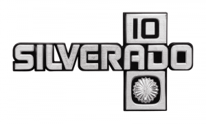 1981-87 Chevy Silverado 10 Fender Emblem