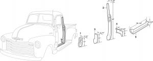 Front Steel Interior Body Parts